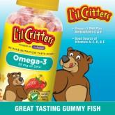 C214443_L'ill Critters Omega-3, gummy